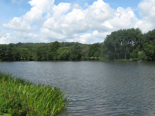 Allestree Lake in Derby - geograph.org.uk - 1653084