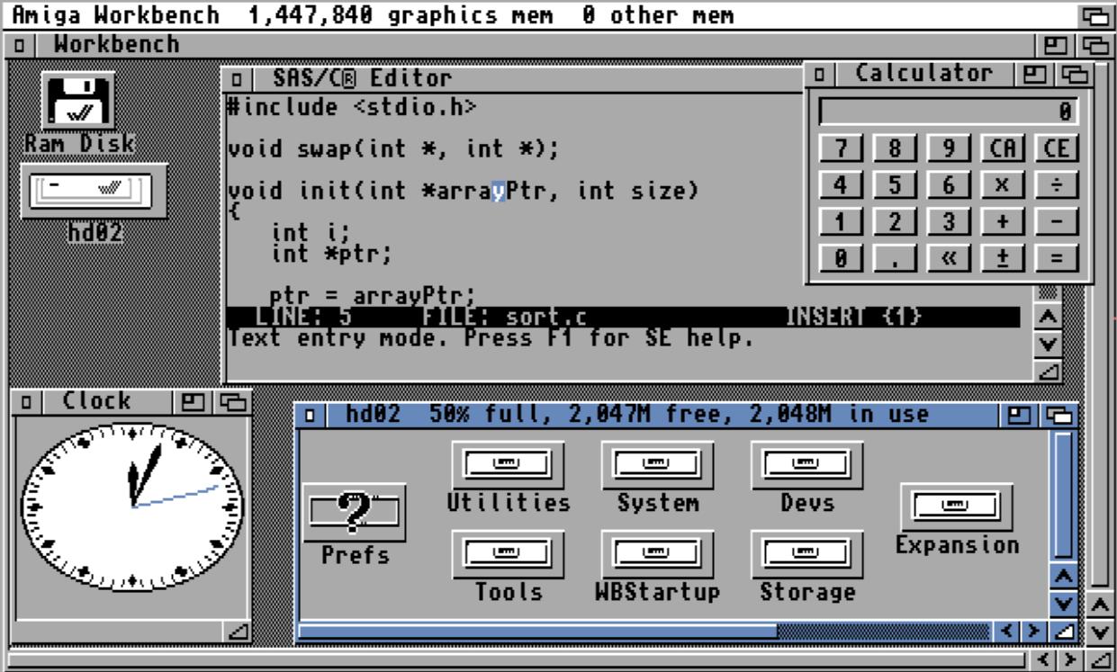 Workbench (AmigaOS) - Wikiwand