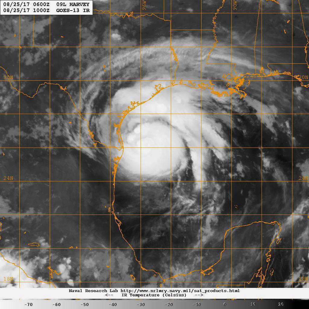 file an infrared satellite image of hurricane harvey a. Black Bedroom Furniture Sets. Home Design Ideas