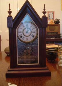 dating ansonia mantle clock