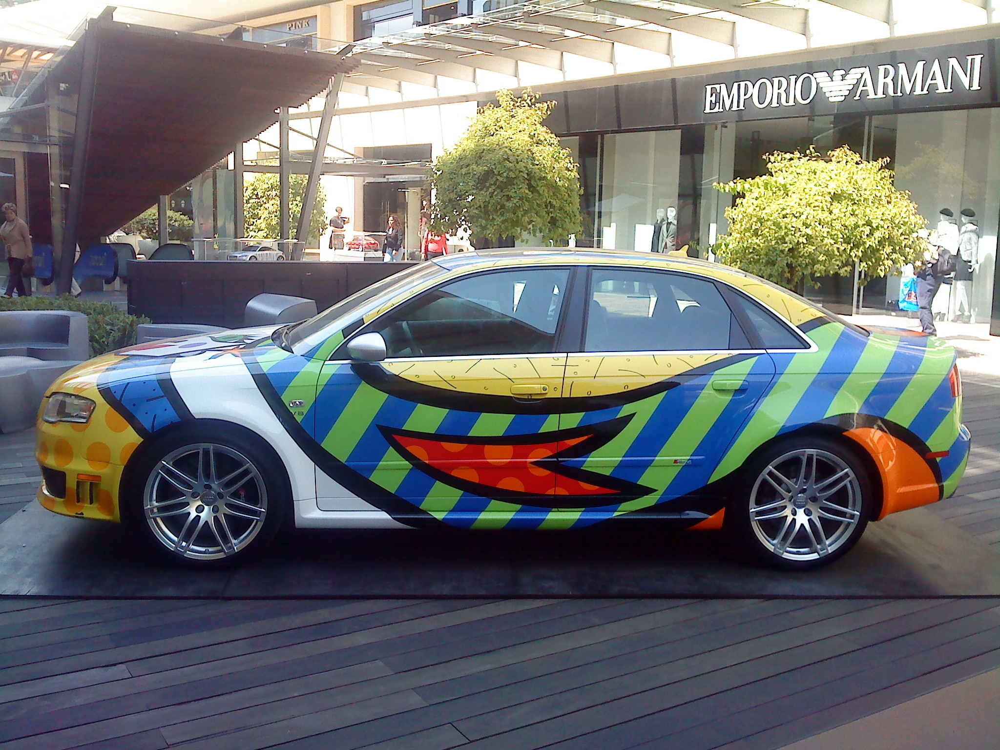 File Audi Rs4 Artcar Jpg Wikimedia Commons