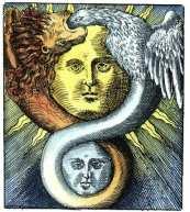 Ilustracja z księgi alchemicznej Basila Valentine, ok. 1659
