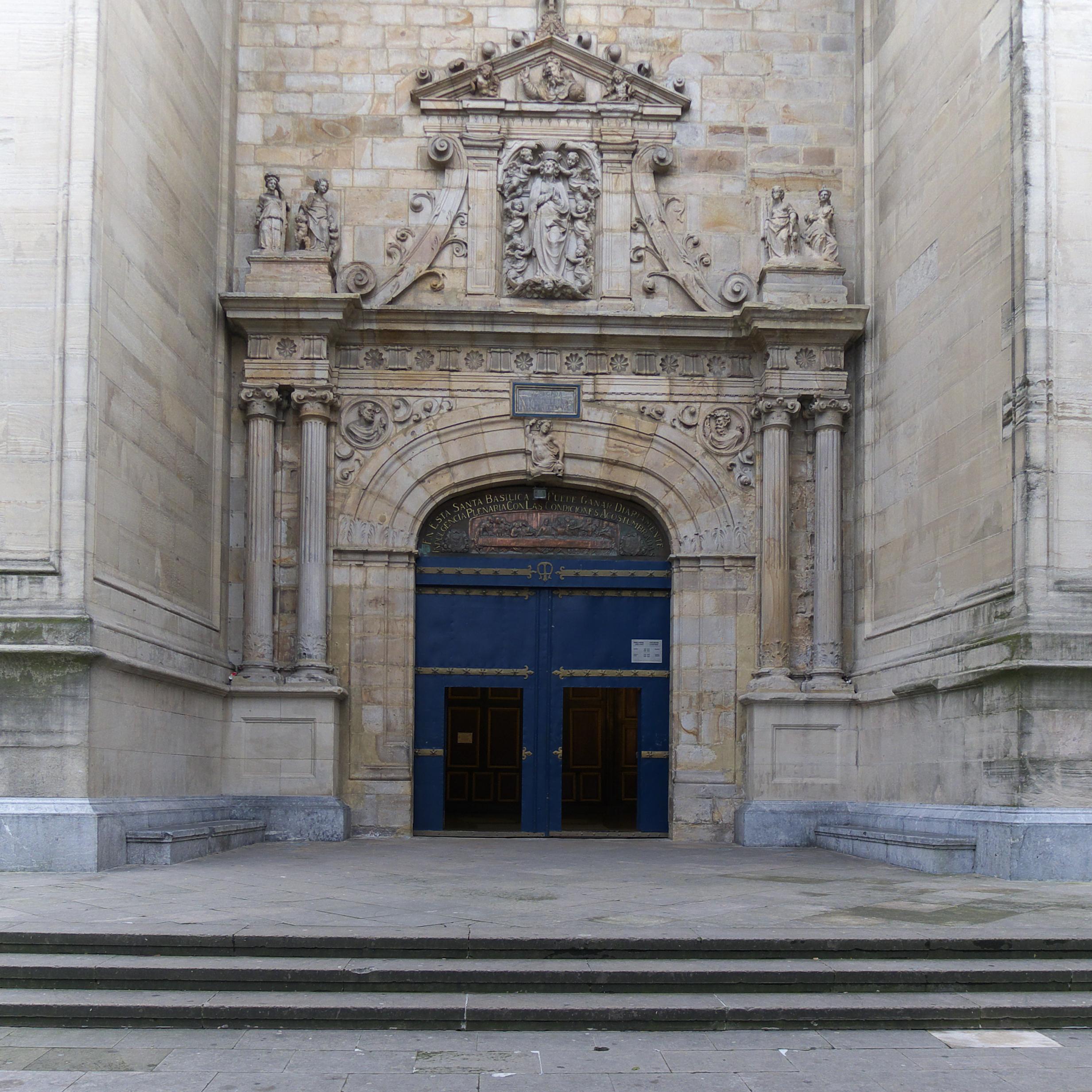 File Basilica De Nuestra Senora De Begona Bilbao Jpg Wikimedia