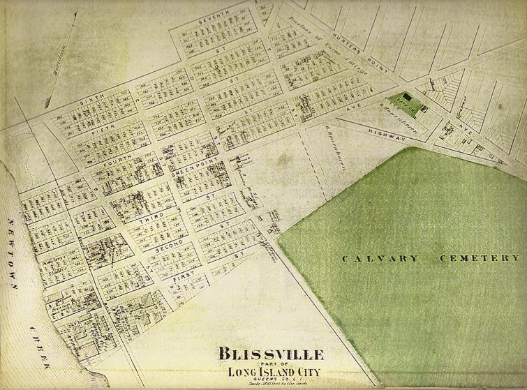 Public Domain New York City Map