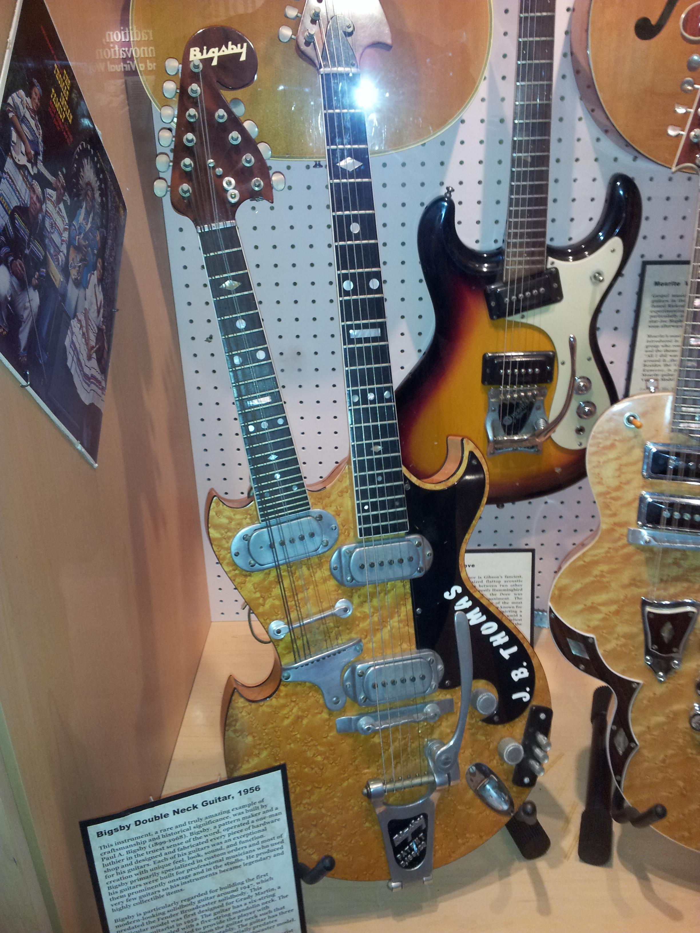 file bigsby double neck guitar 1956 mosrite harvey double neck guitar 1957 museum of. Black Bedroom Furniture Sets. Home Design Ideas