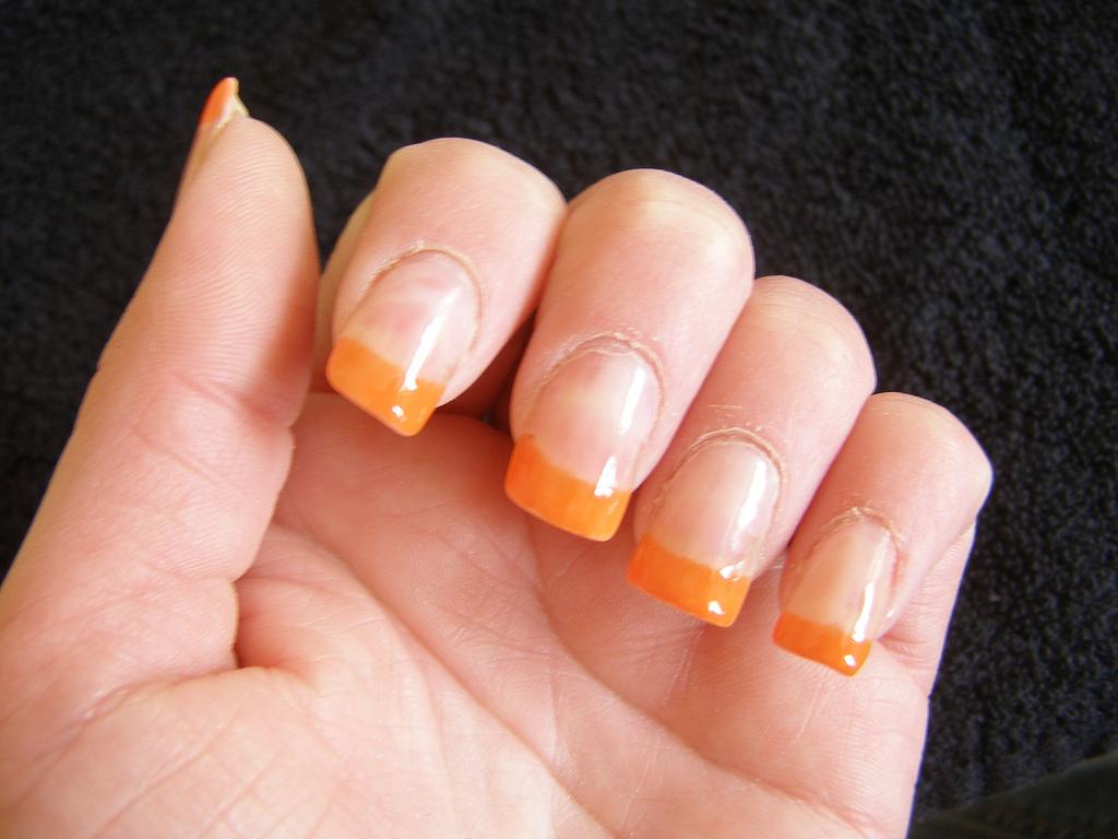 File:Bright orange nail tips.jpg - Wikimedia Commons