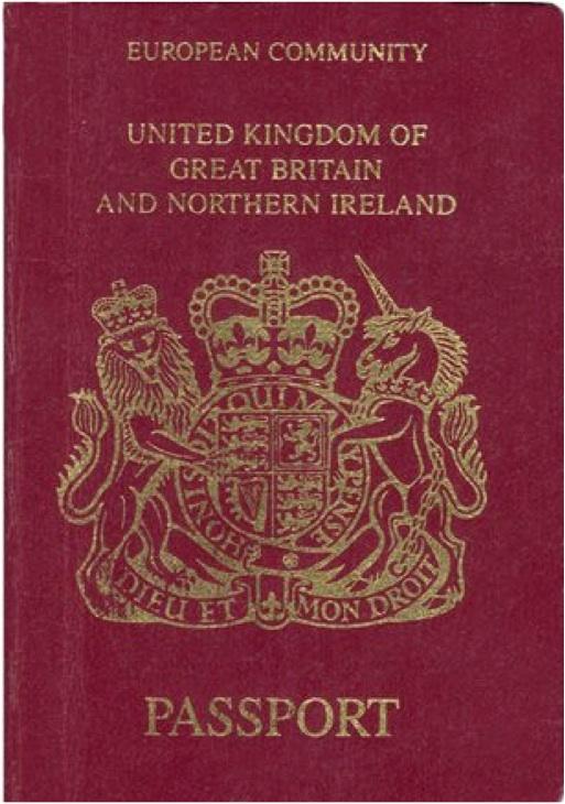 United Kingdom Visa On Refugee Travel Docs