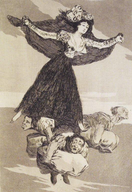 Brooklyn Museum - They Have Flown (Volaverunt) - Francisco de Goya y Lucientes