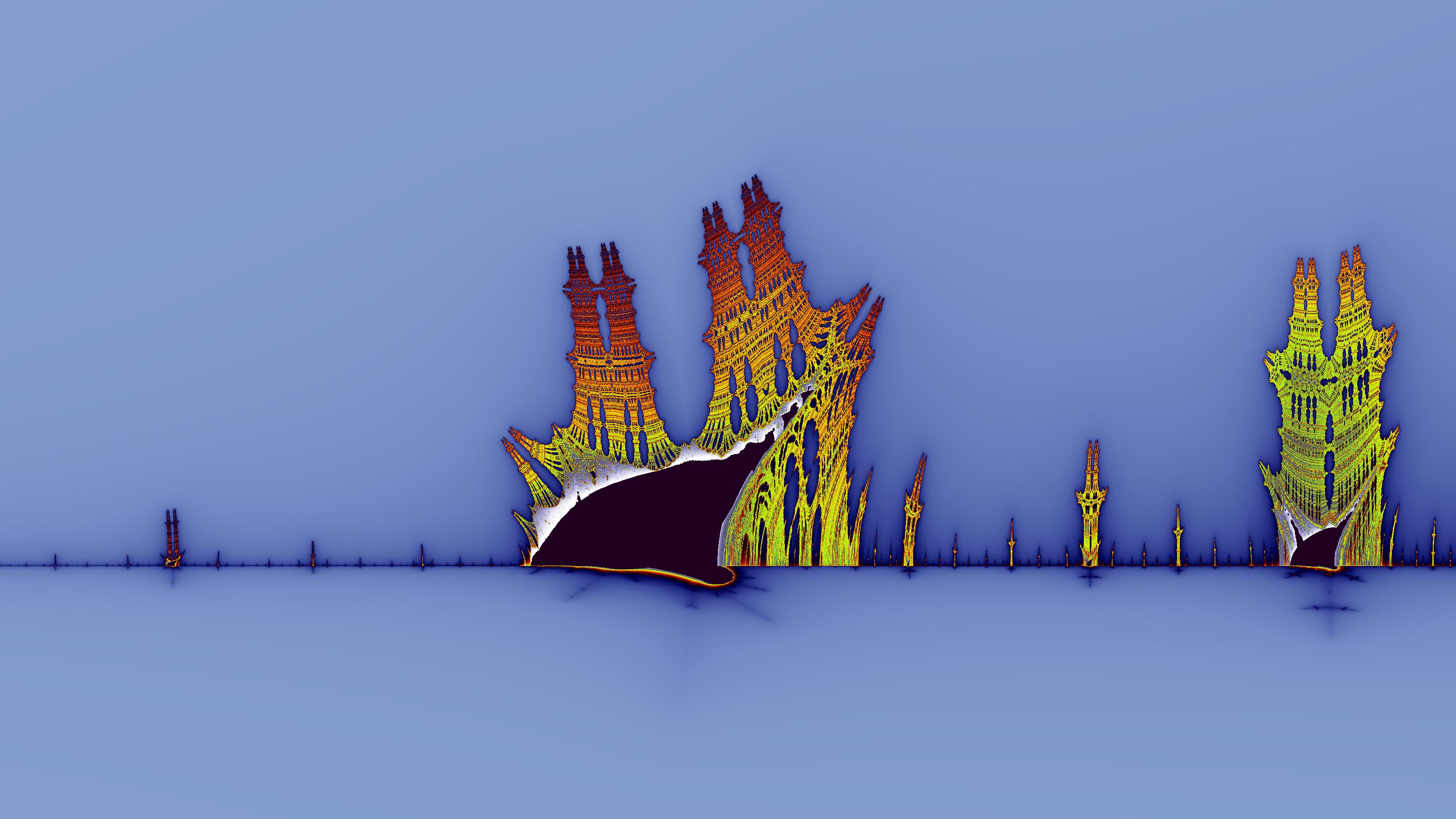 Burning Ship screenshot for Wikipedia