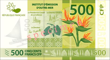 500-franc4.204.90banknote,usedinrencholynesia,ewaledoniaandallisandutuna.