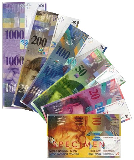 Banknotes of the SWISS FRANC - Wikipedia, the free encyclopedia
