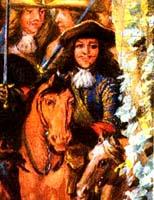 Portrait de d'Artagnan par Adams Frans Van der Meulen