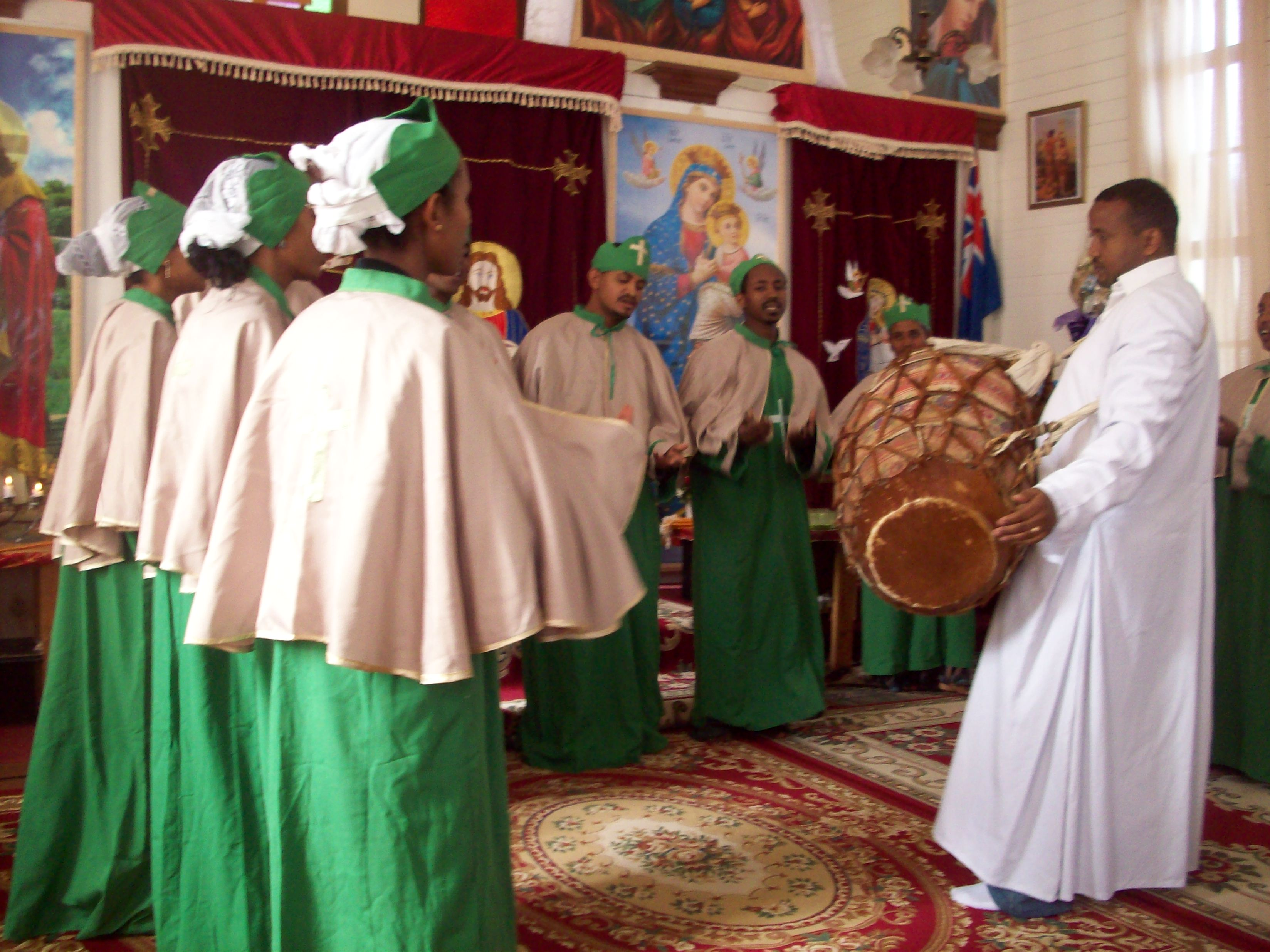 File Choir Ethiopian Orthodox Church Brisbane Jpg