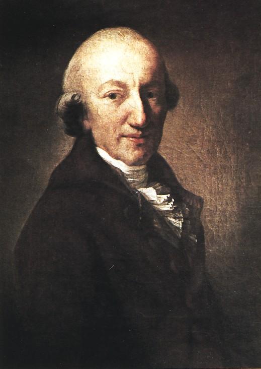 Christoph Martin Wieland von Anton Graff 1794