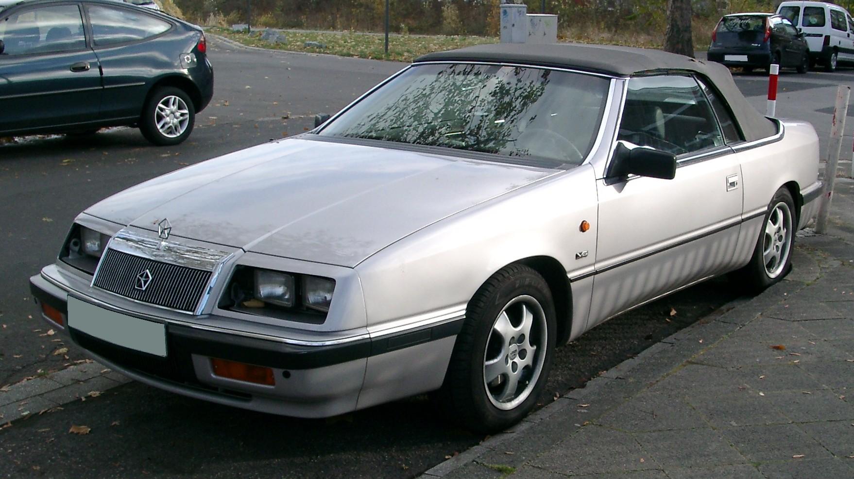 Chrysler Le Baron V6 1992 - potencia mxima