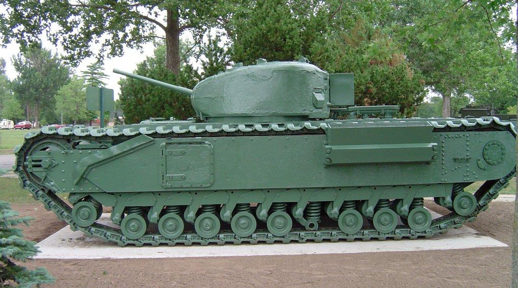 Churchill Mk.I at Borden