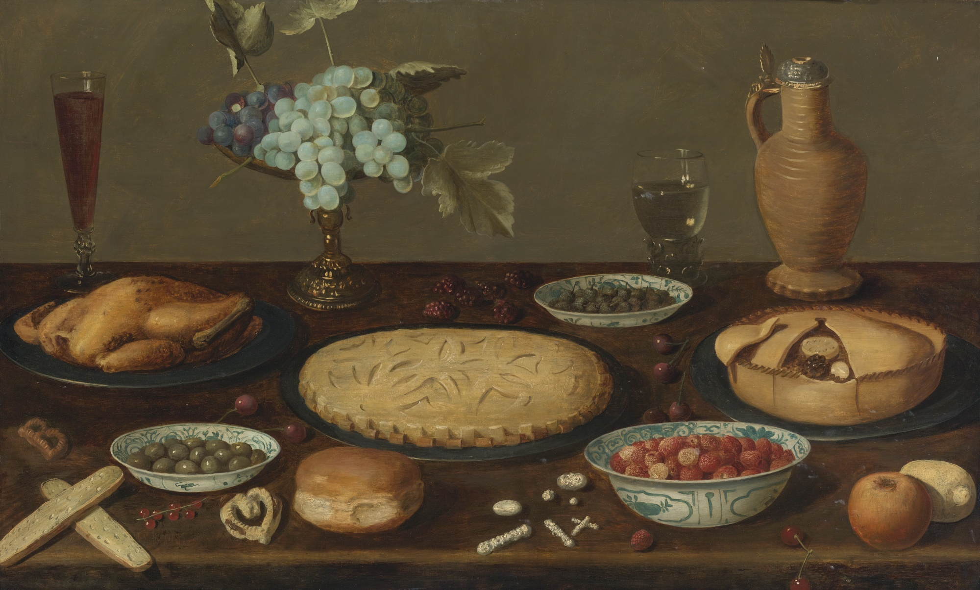 File Circle Of Jacob Van Es Still Life With Meat Pies A