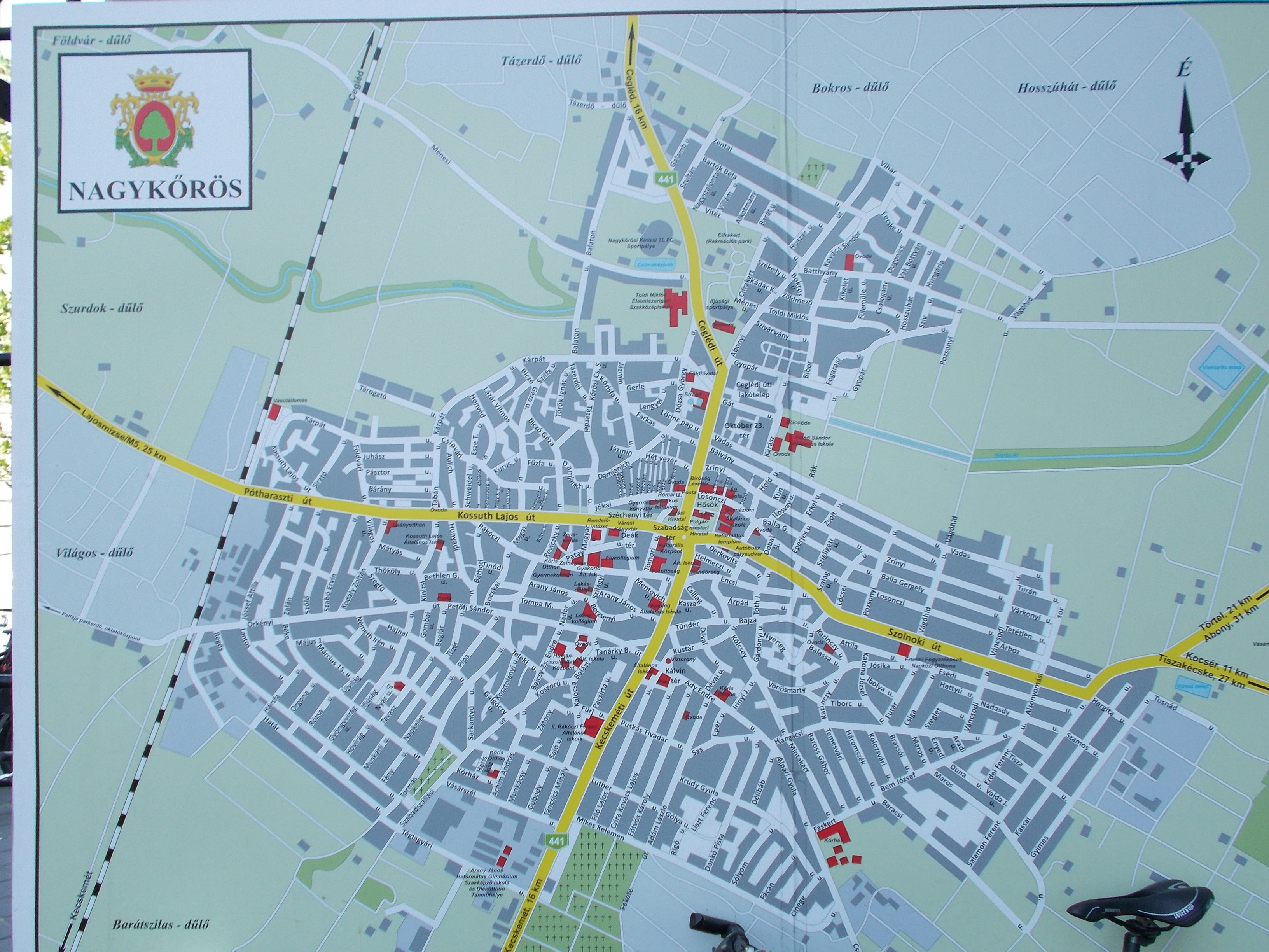 File City Map Nagykoros Hungary Jpg Wikimedia Commons