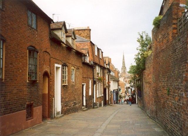 Claremont Hill, Shrewsbury