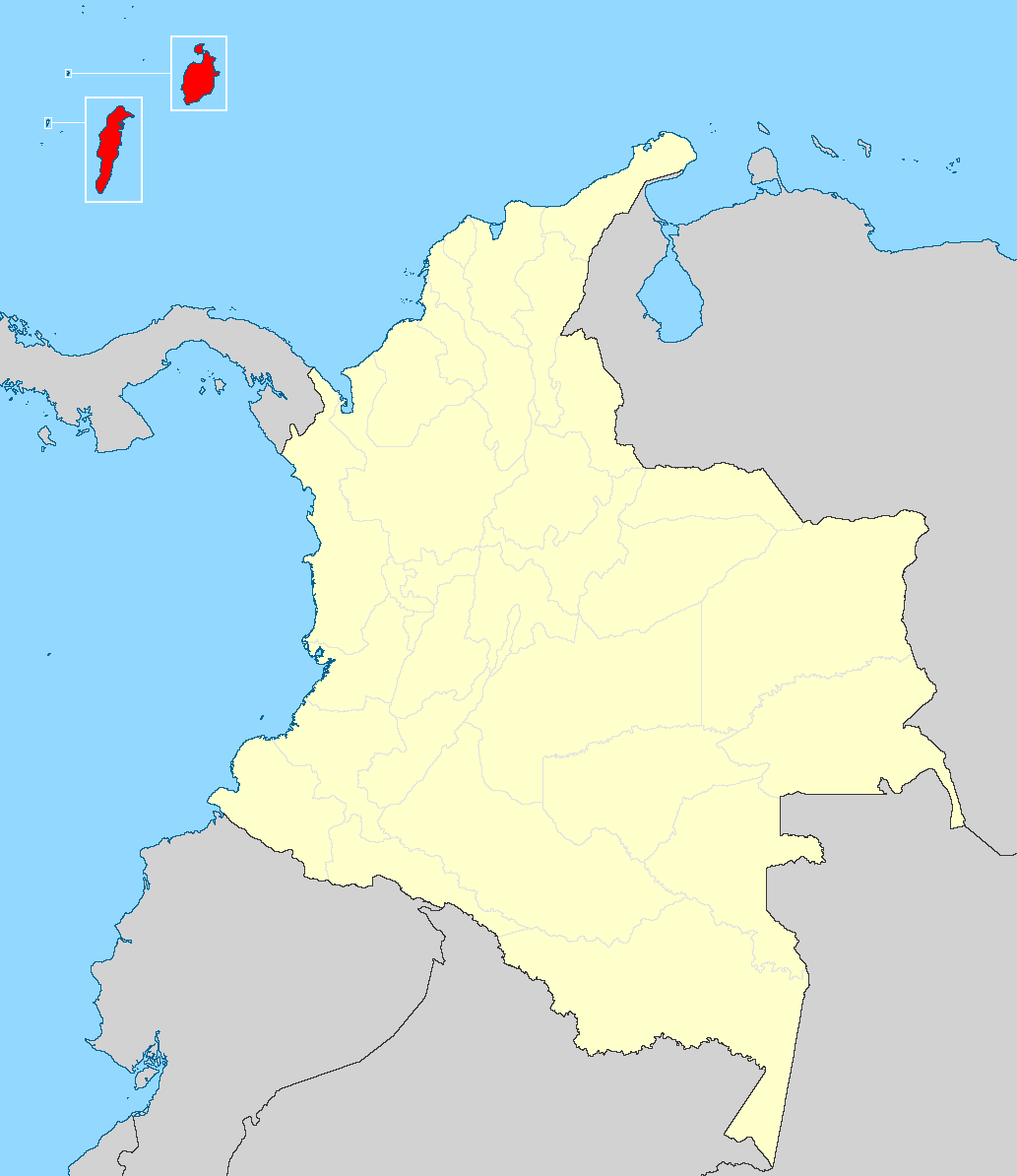 Archipelago of san andres providencia and santa catalina in the past