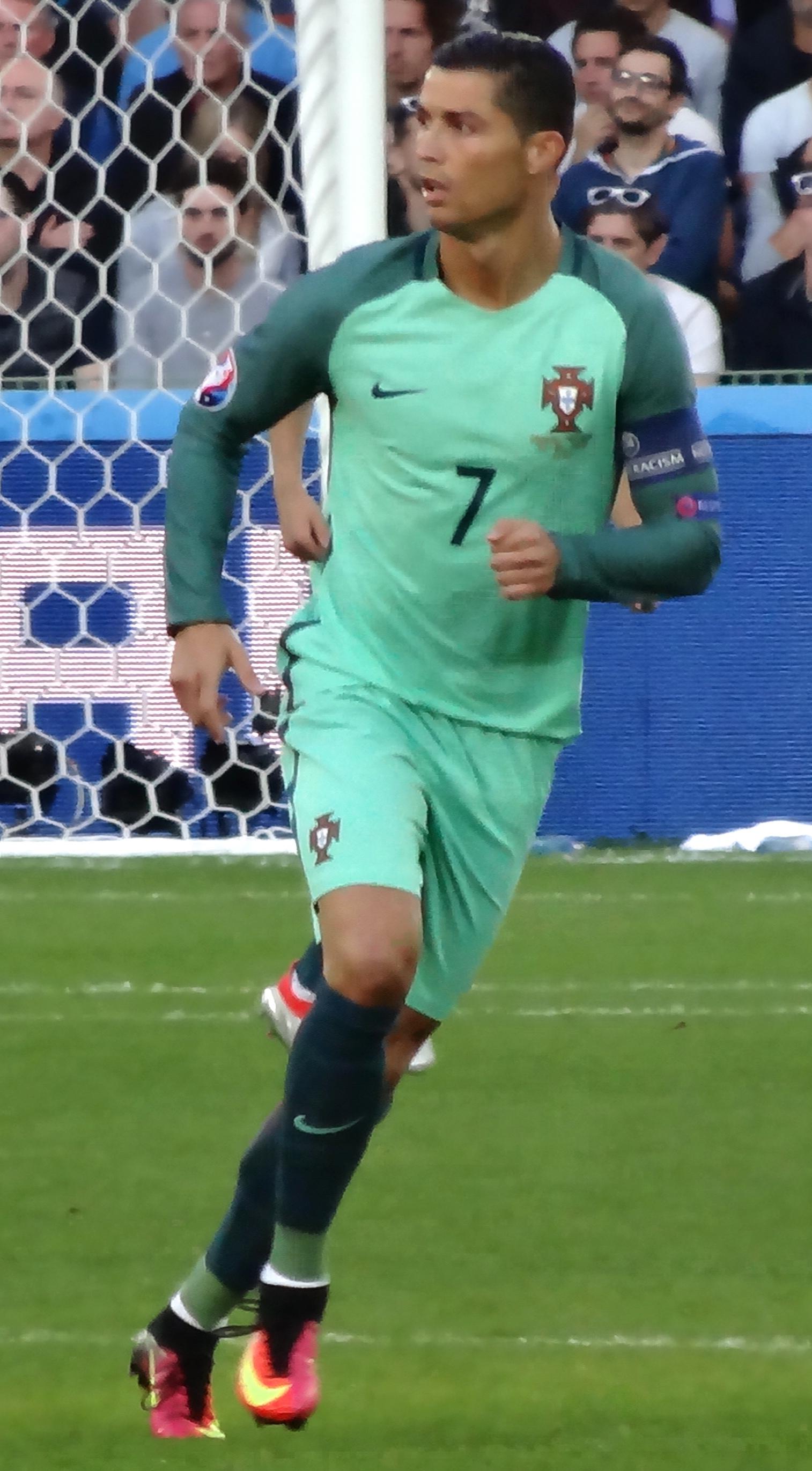 O capitão Ronaldo no Euro 2016. 37da8721c3e6b