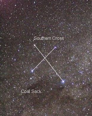Image result for southern cross constellation