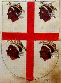 Cruz de Alcoraz. Armorial of Aragon, 1536.jpg