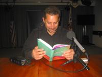 "Daniyal Mueenuddin reads an excerpt from his short story ""Nawabdin Electrician"", [[London]], 2009"