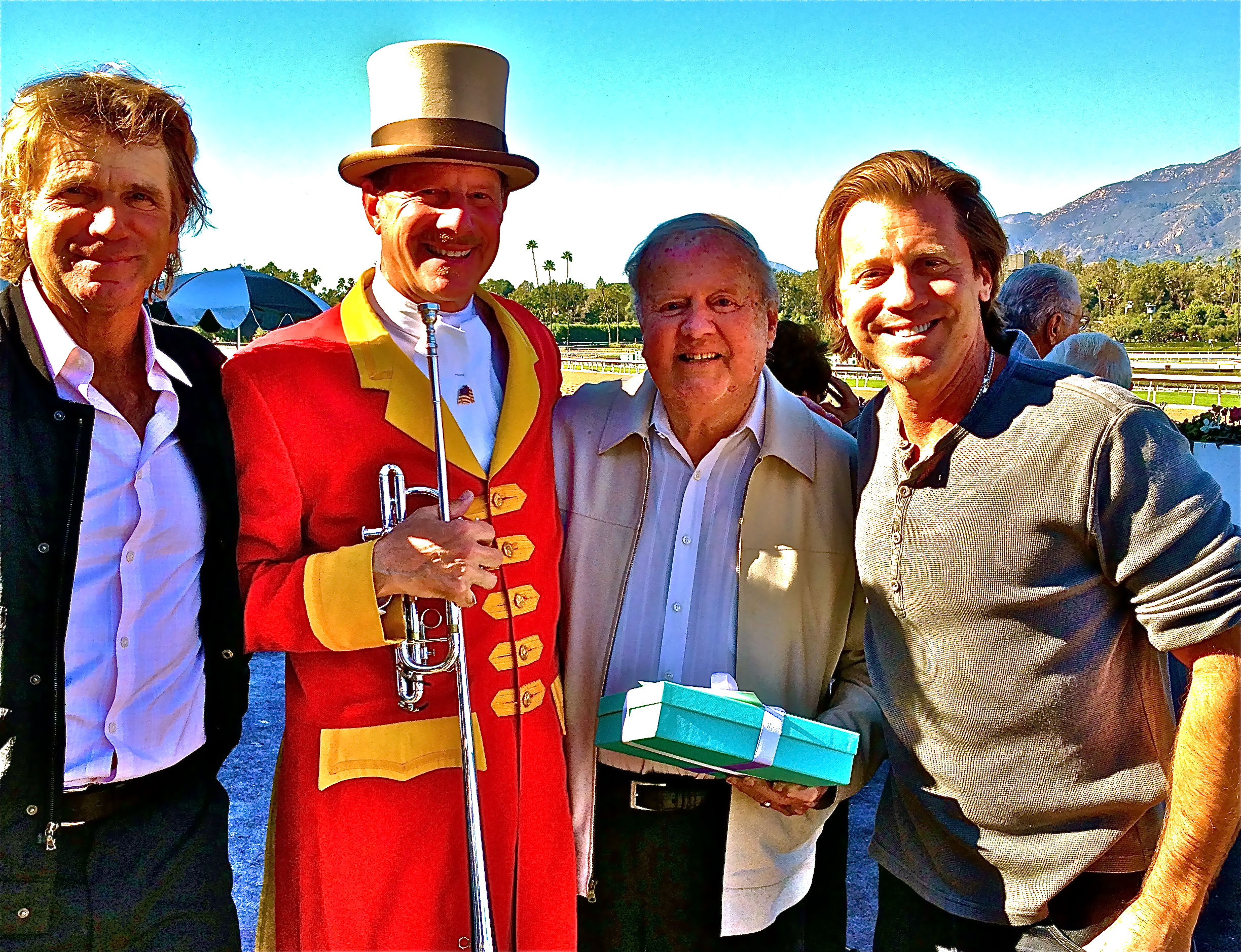 File:Dick Van Patten With Sons Vincent and Nels Feb2013