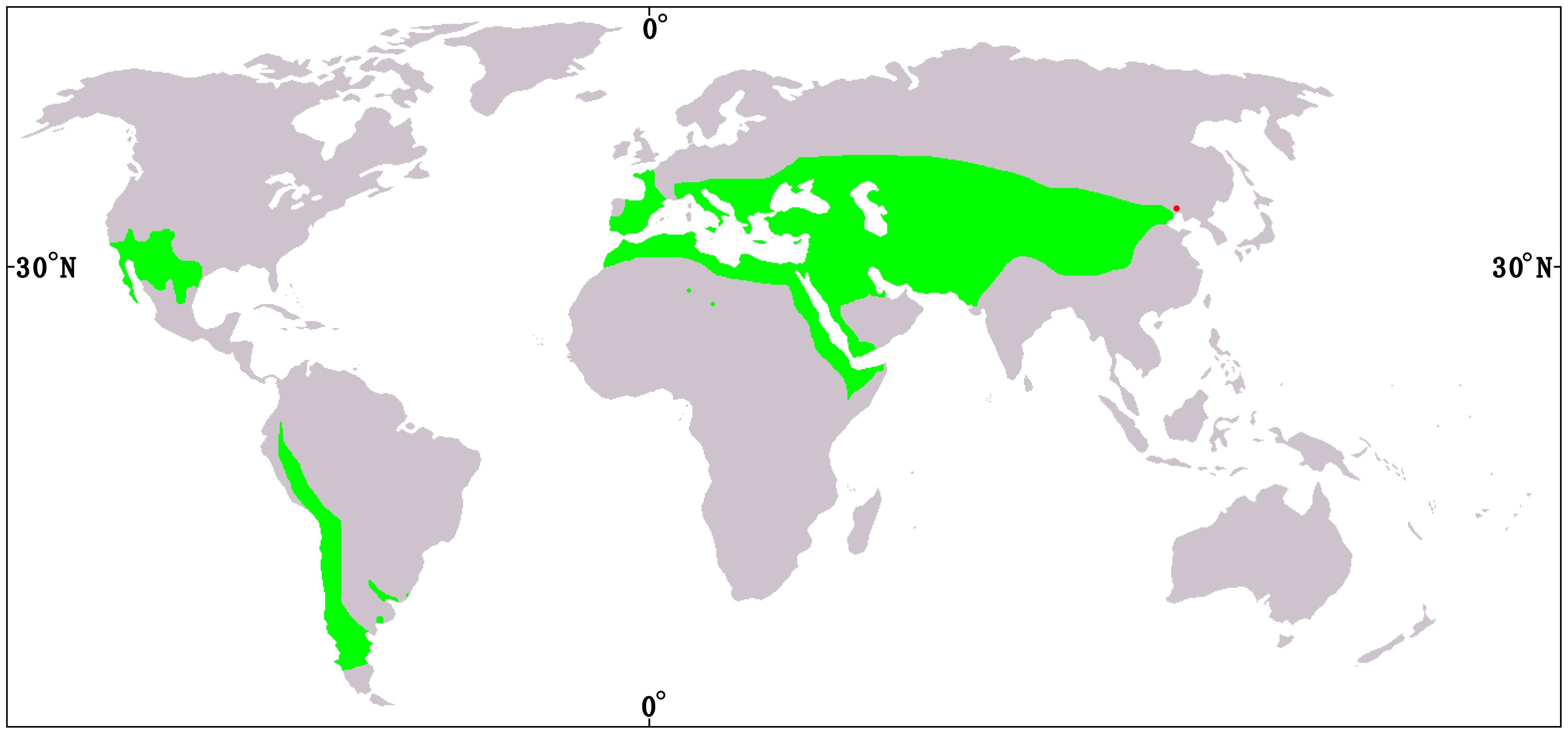 Description Distribution map of Ephedra - journal.pone.0053652.g001 ... Neanderthal 1