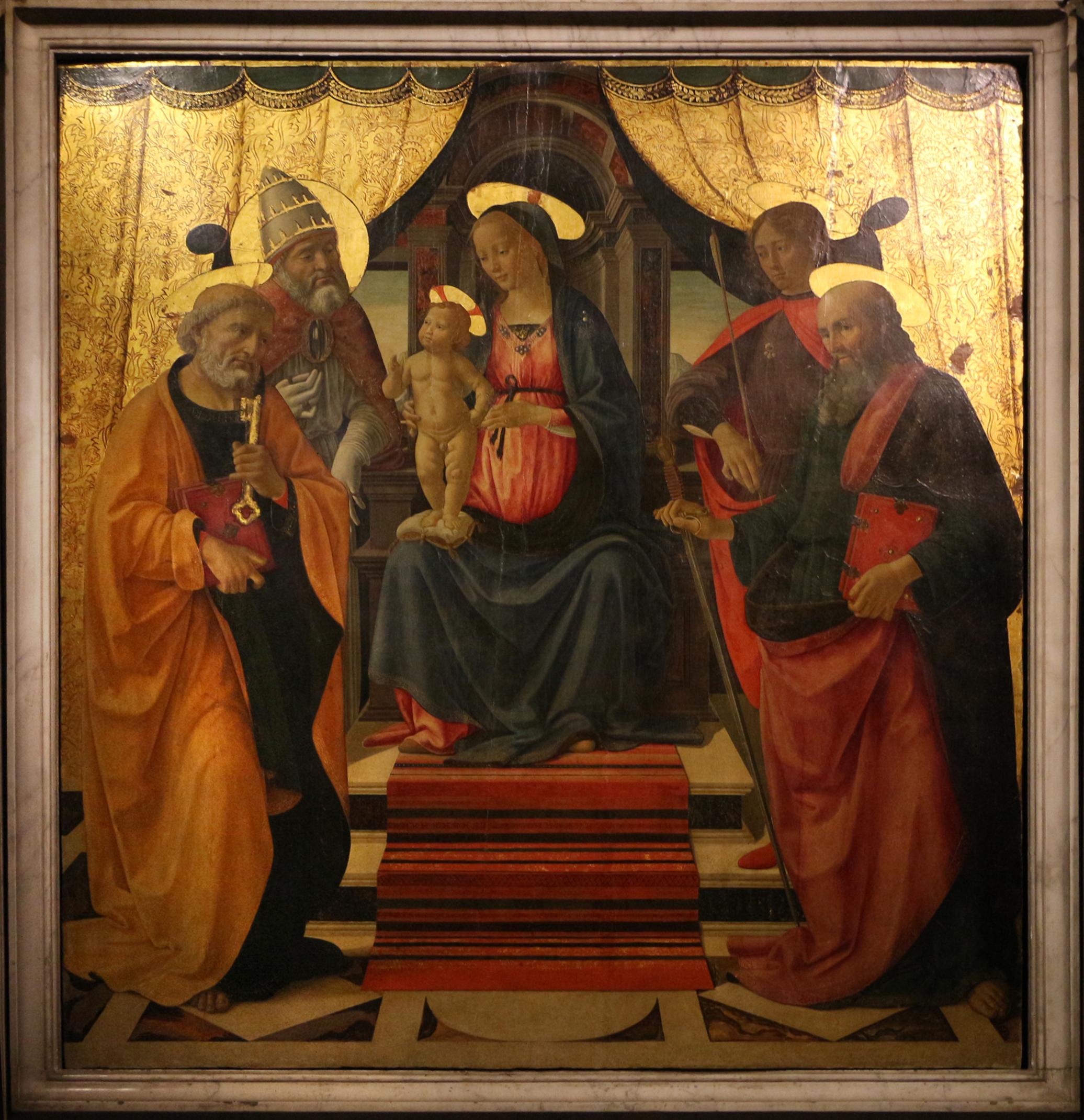 File:Domenico ghirlandaio, sacra conversazione di lucca, 1479, 02.JPG