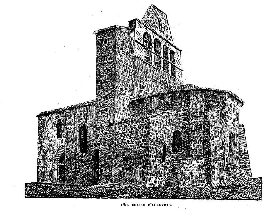 File eglise d 39 alleyras wikimedia commons - Dessin eglise ...