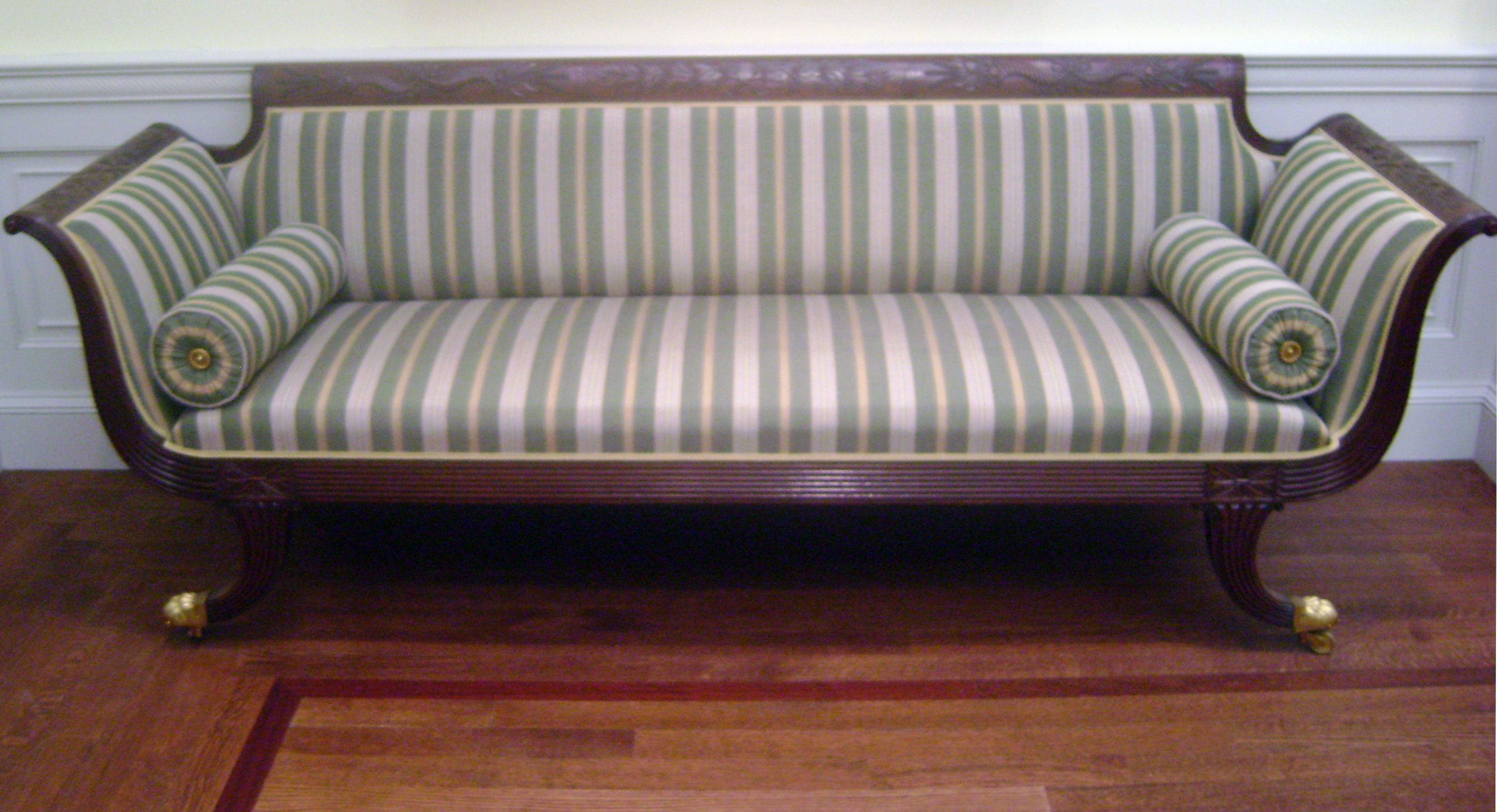 File Federal Settee