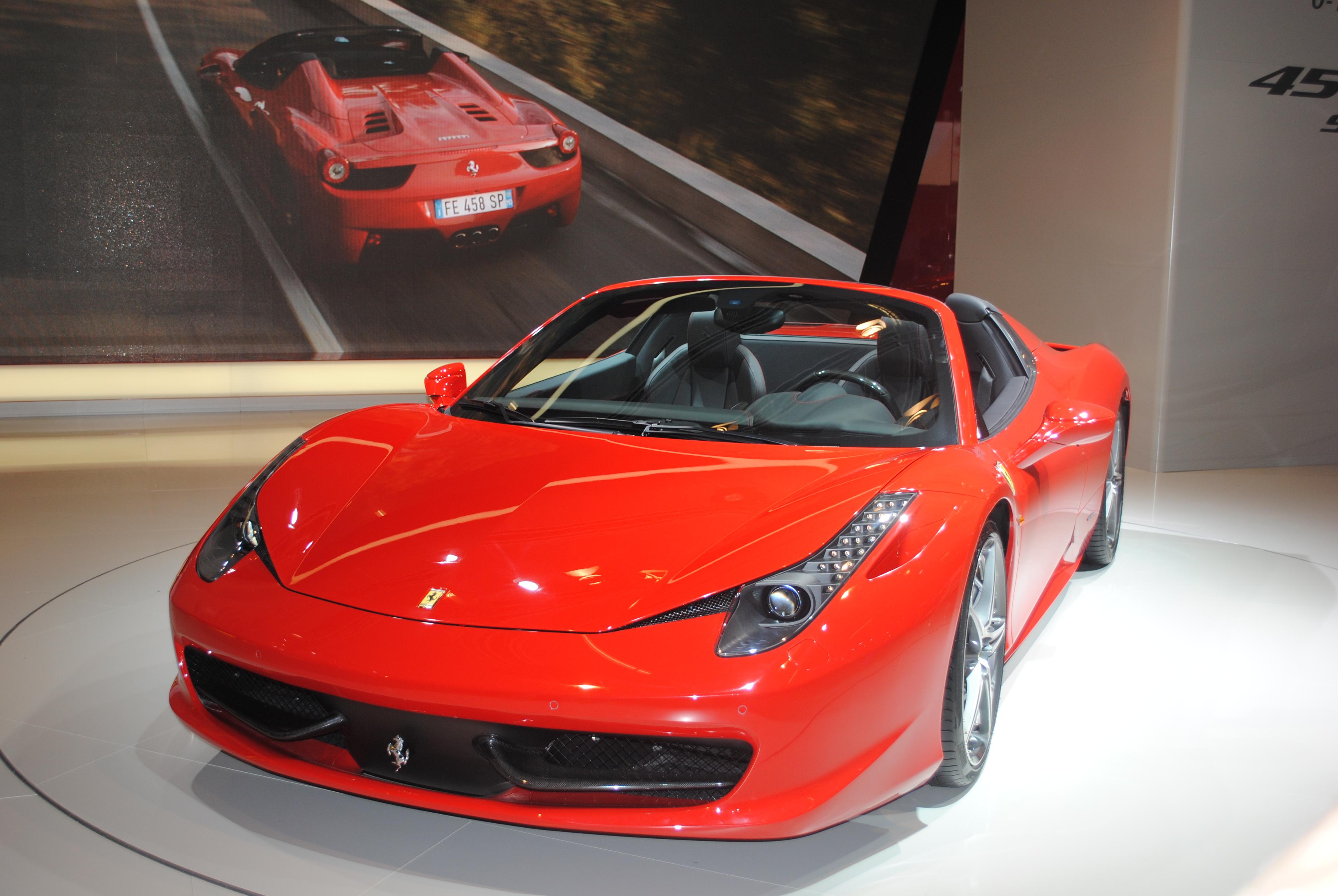 File Ferrari 458 Spider At The Frankfurt Motor Show Iaa 2011 6143715637 Jpg Wikimedia Commons