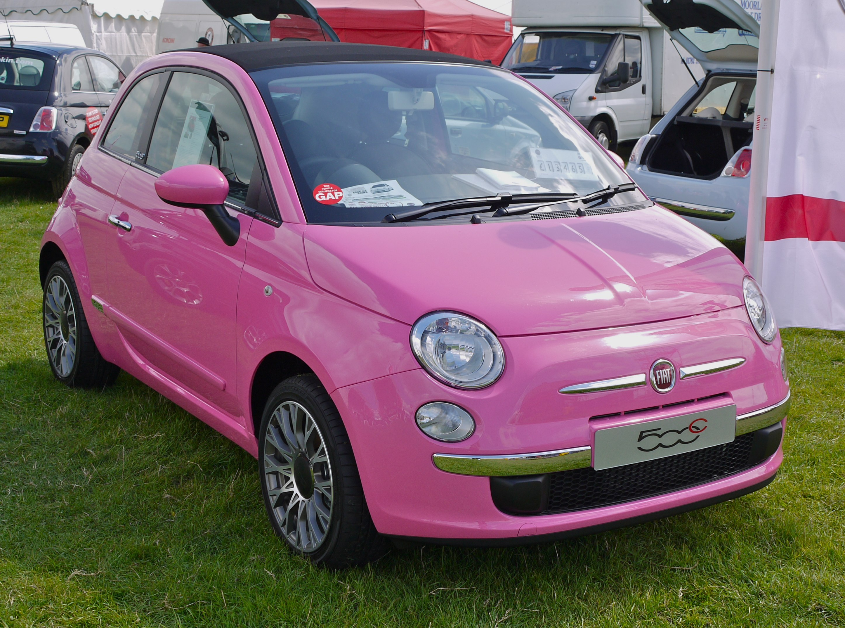 File Fiat 500 With A Boot To Carry The Mince In Flickr