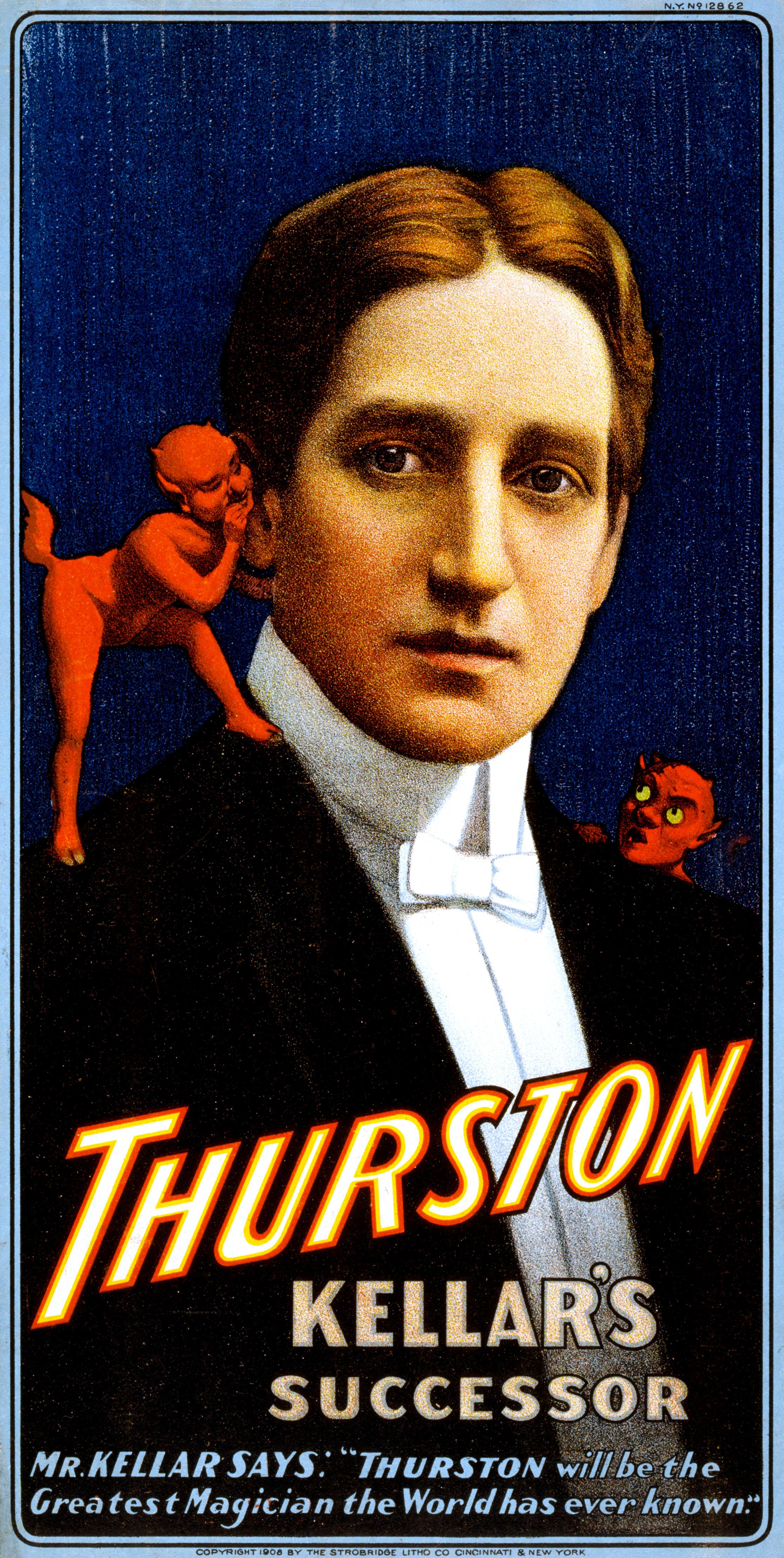 Magician From The Crystal Visions Tarot: Thurston, Kellar's