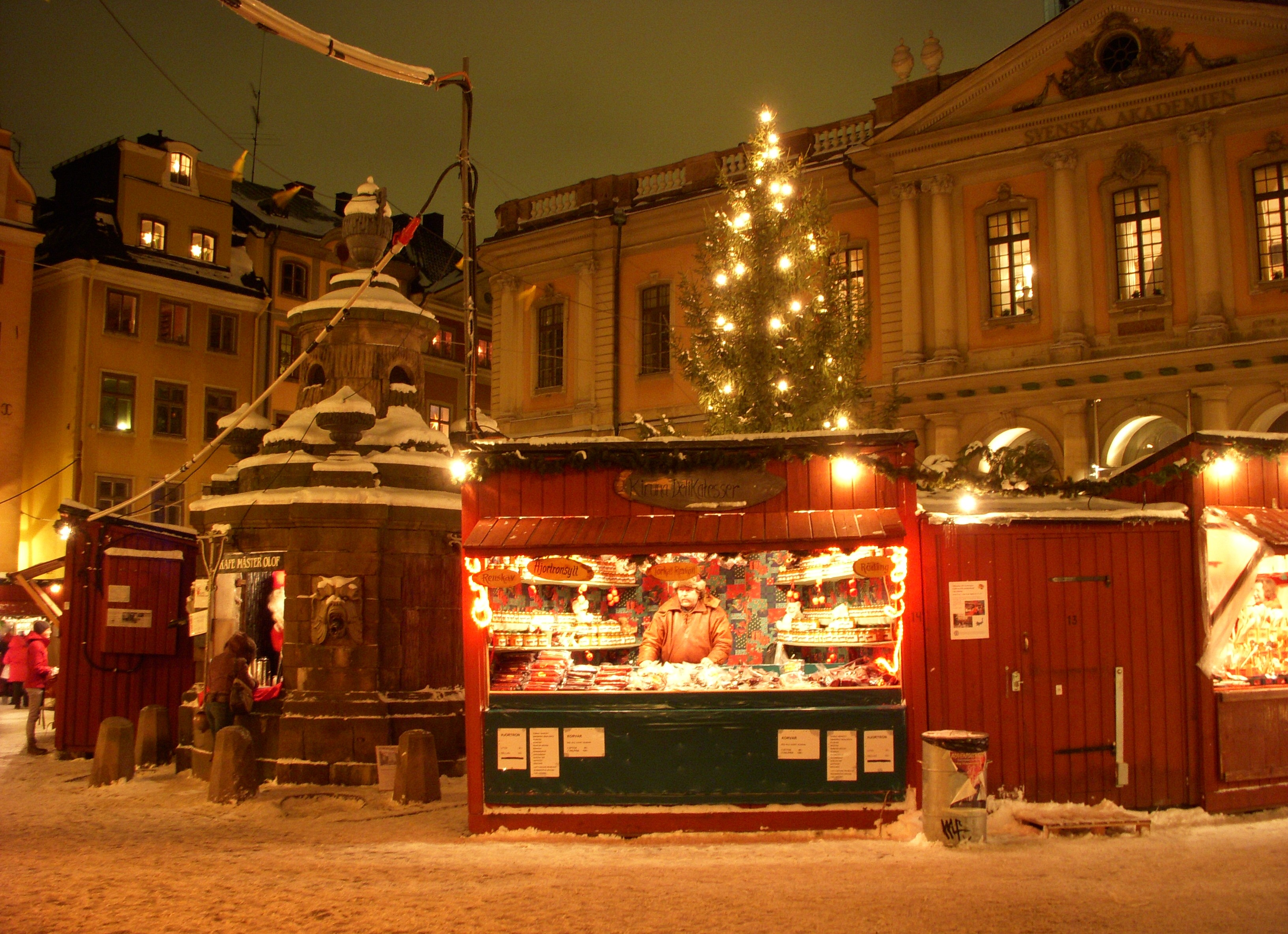 gamla stans julmarknad