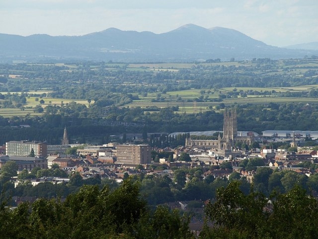 Gloucester from Robinswood Hill - geograph.org.uk - 876167