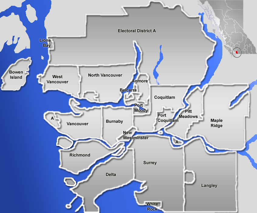 Image result for vancouver neighbourhood map