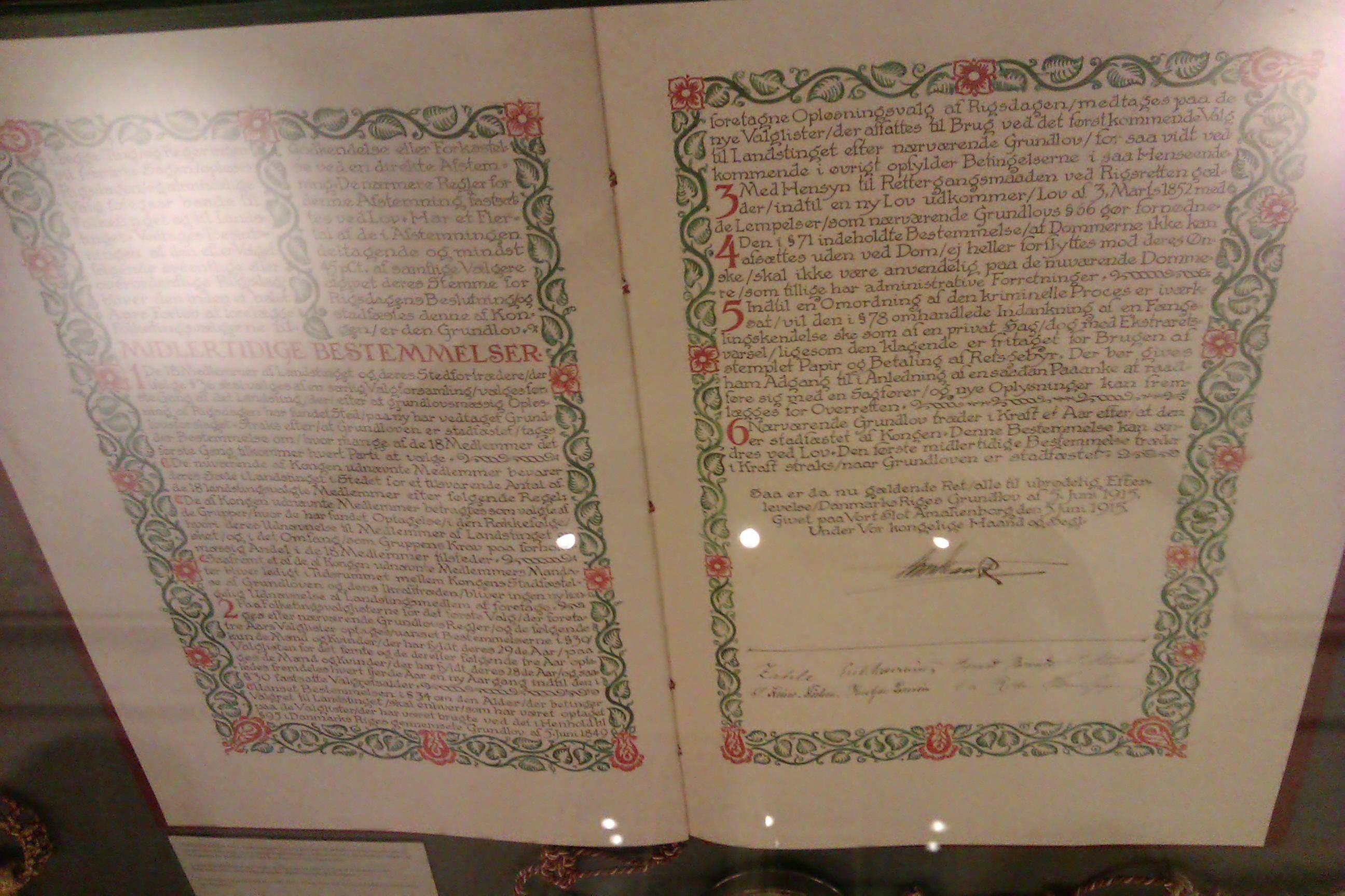 grundloven 1849 tekst