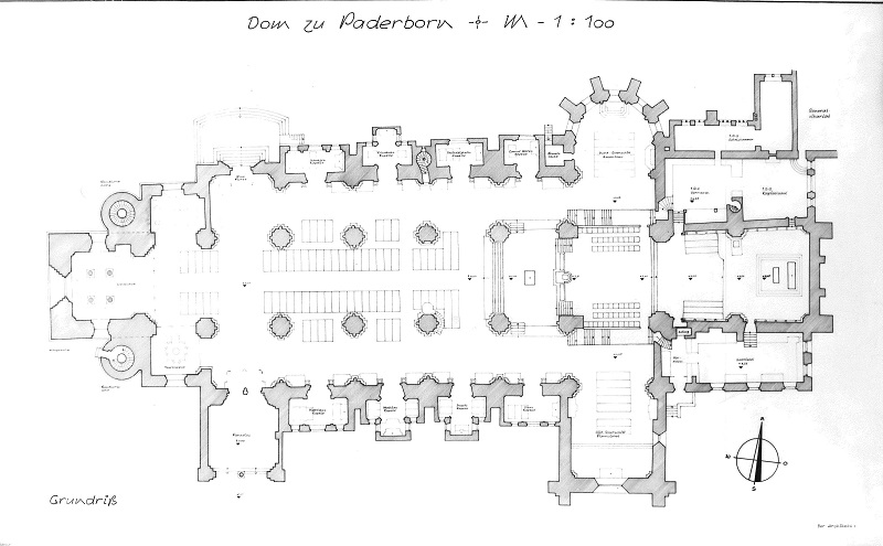 File:Grundriss des Paderborner Domes angefertigt von Architekturbüro Dipl.-Ing. Heinrich Stiegemann Warstein.jpg
