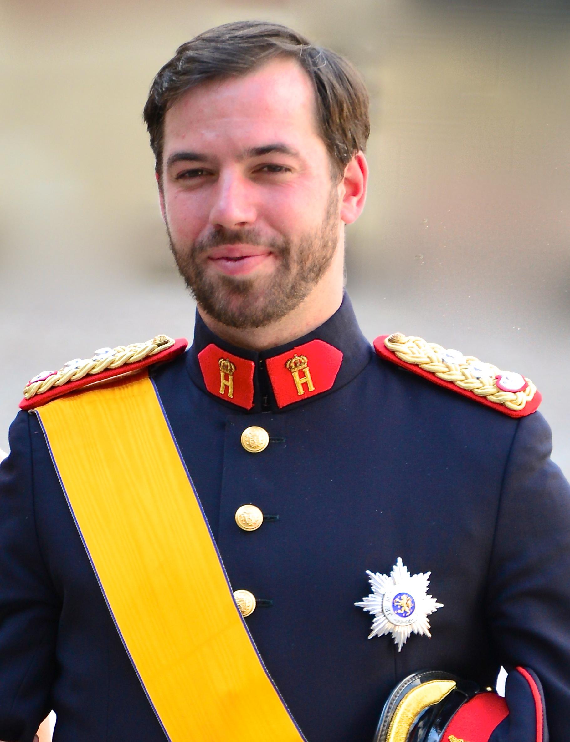 Guillaume von Luxemburg Größe