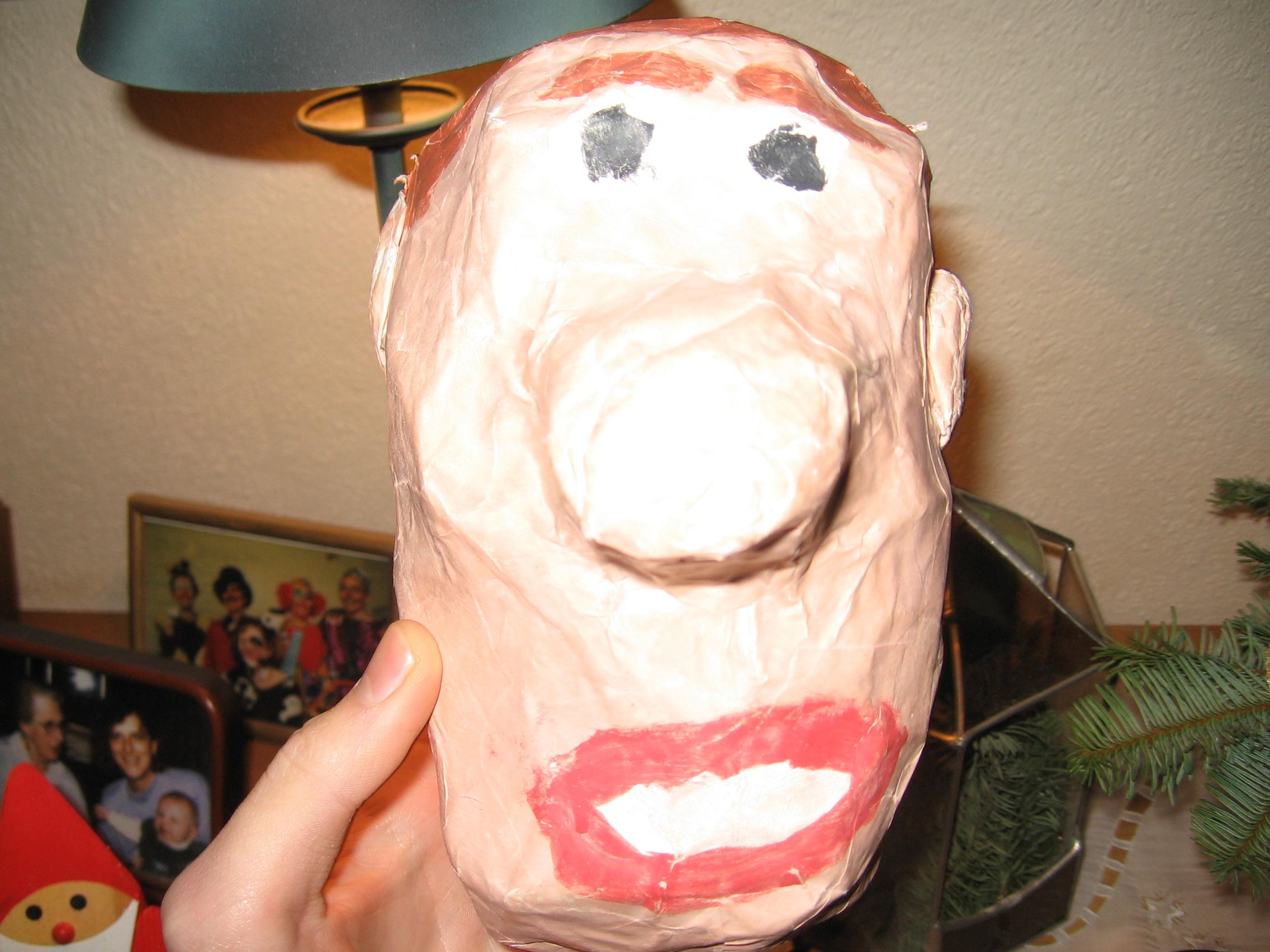 Hässlicher Kopf