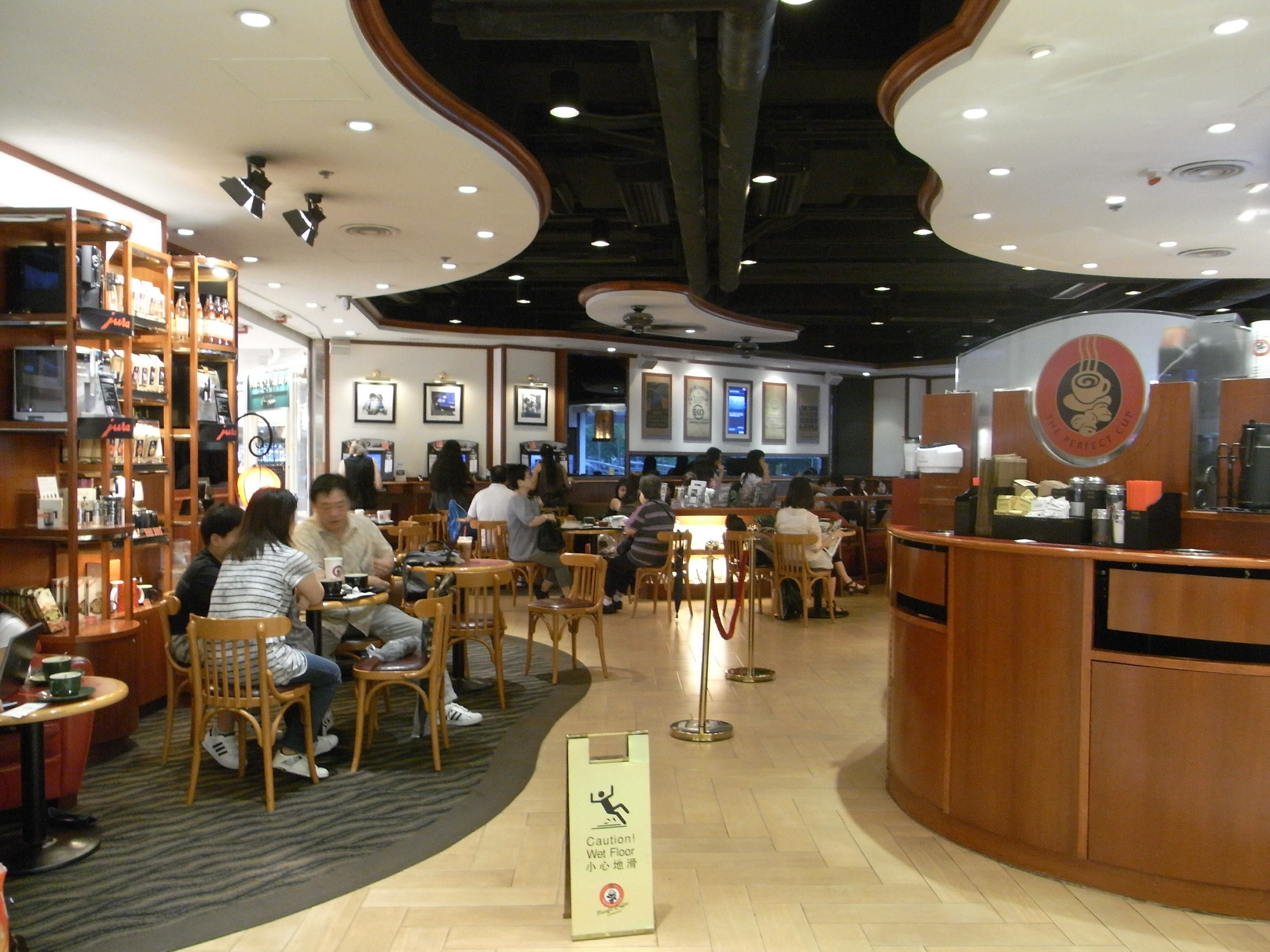 House Design In Qatar File Hk Cwb 皇室堡 Windsor House Mall Cafe Pacific Coffee