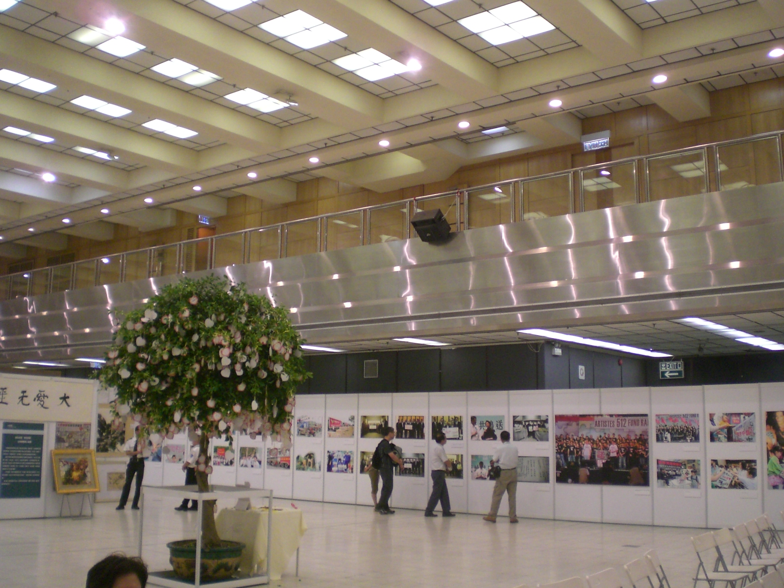 Exhibition in the center of city 2