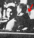 Croft photo taken at about Zapruder frame 162 (shortly before the first bullet strike to the president) shows his jacket significantly bunched just before he is hit
