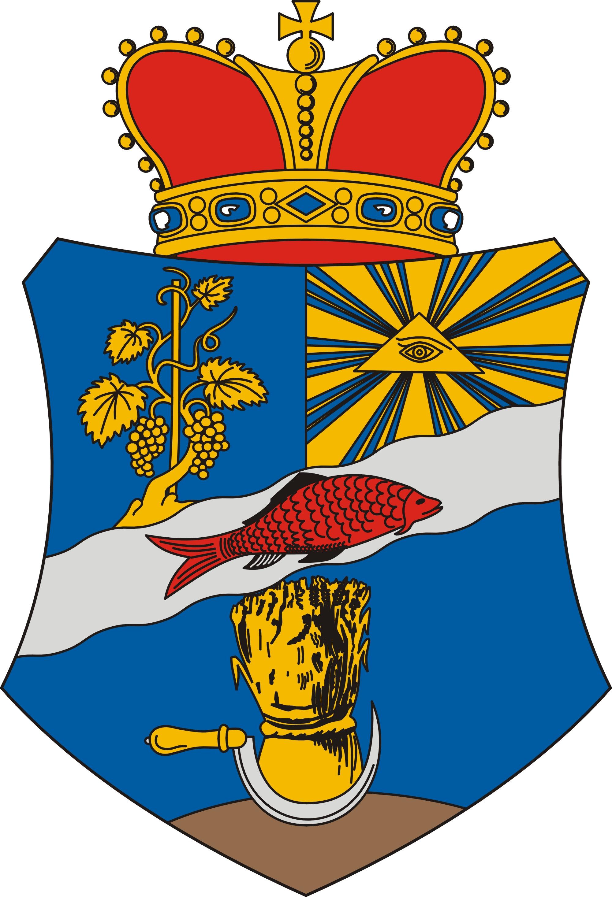 Ádánd község címere
