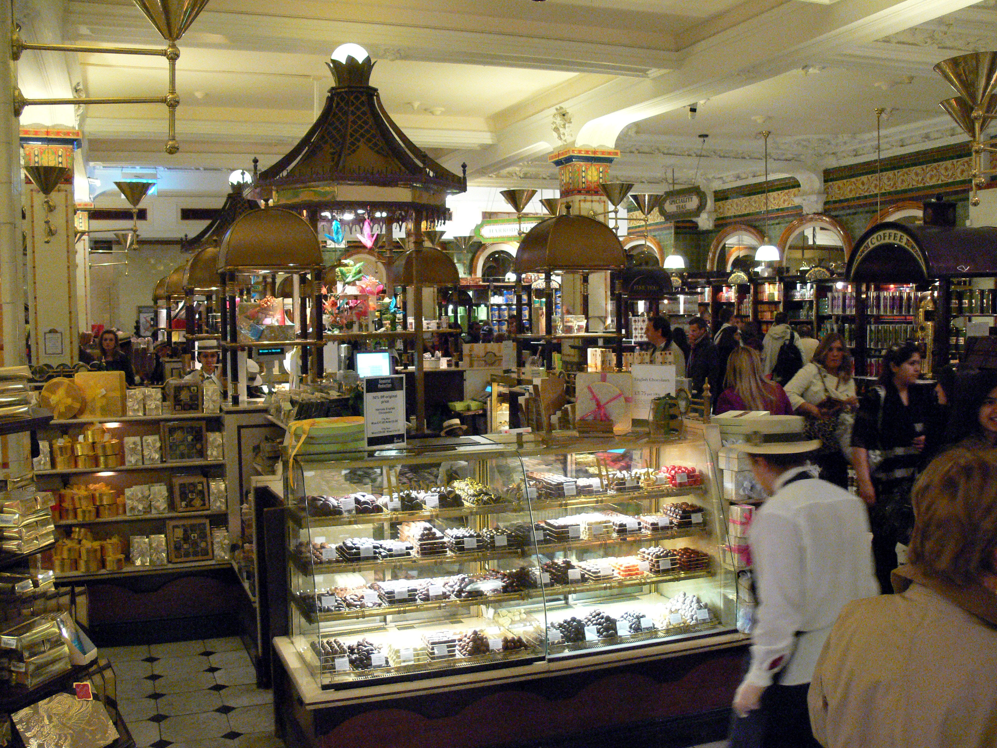 File harrods wikipedia for Showroom cuisine paris