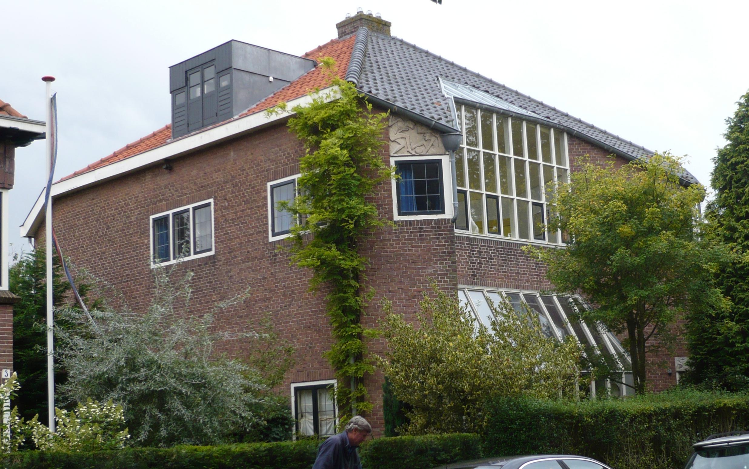 Atelierwoning in heemstede monument - Expressionistische architectuur ...
