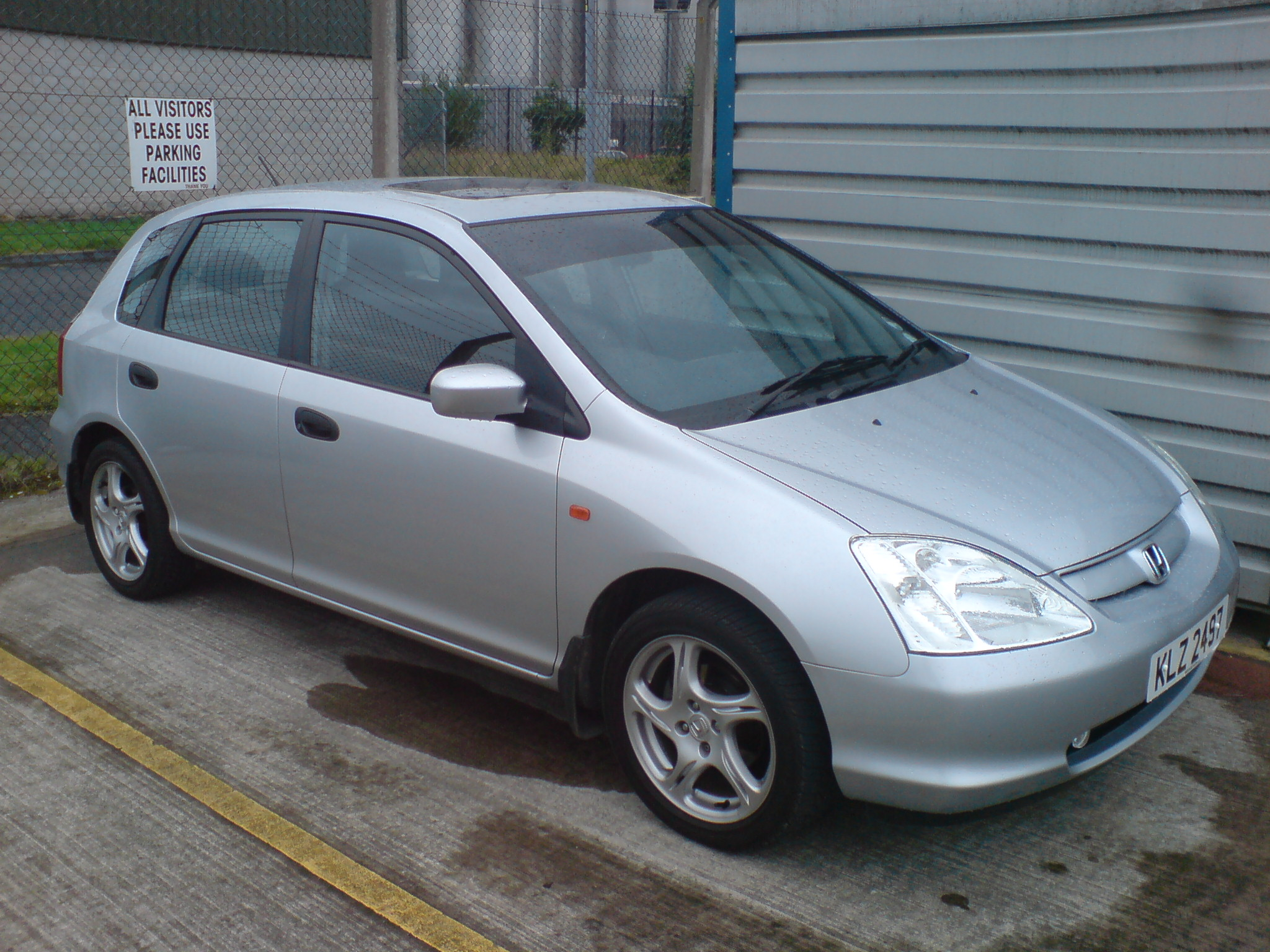 Honda Civic 2004 4 Door Modified